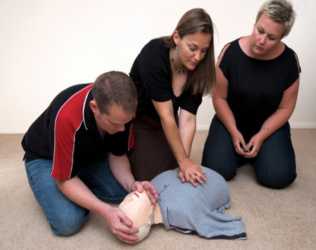 Resilient first aid training